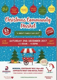 CHRISTMAS DECORATIONS WANTED FOR CHARITY EVENT