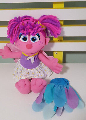 ABBY CADABBY DRESS UP PLUSH TOY SOFT TOY CHARACTER DOY SESAME STREET MUPPET!