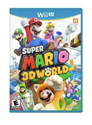 Super Mario 3D World (Wii U, 2013) FREE SHIPPING - MINT CONDITION & COMPLETE