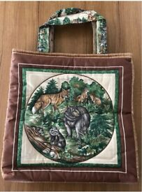 Handcrafted Quilted Bag- Lovely Gift