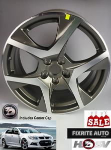 HSV VF Clubsport Alloy Rims & Center Caps x 4 Genuine VE VZ VY VX Ravenhall Melton Area Preview