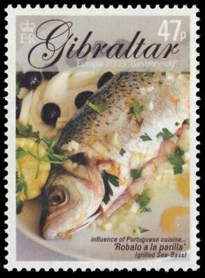 Grilling Sea Bass (GIBRALTAR 1013 - Europa Gastronomy