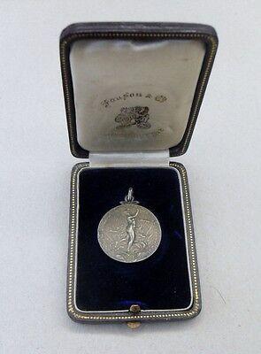 Belgien Auszeichnung Medaille mit Etui ~ 1910  [Automobil Motorrad Oldtimer]