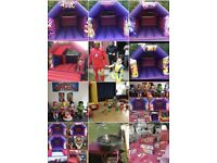 Party hire bouncy castles soft play face painting mascots and more