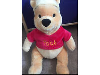 BOTH FOR £15! TRAMP AND WINNIE THE POOH SOFT TOYS