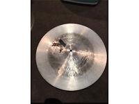 Cracked 19 inch Zildjian K Custom dark china cymbal