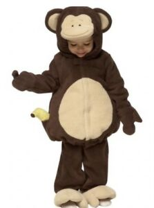 Toddler monkey costume size 12- 24 months