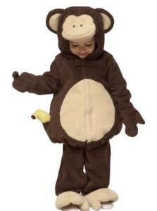 Toddler monkey costume, size 12-24 months