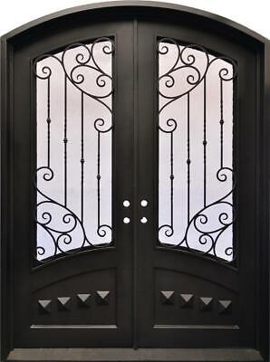 BEAUTIFUL IRON INSULATED ESTATE DOORWAY ENTRY - D3