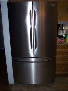 Frigidaire Gallery Brushed Stainless Steel Refrigerator