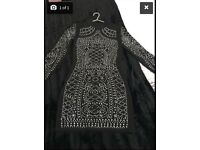 Moda Minx Embelleshed Dress Size xs (6/8)