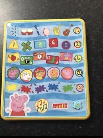 Peppa Pig learning tablet new without box