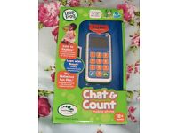 NEW LEAP FROG LEARN TO COUNT MOBILE PHONE IN BOX