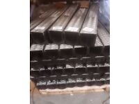 1m Storm Channel Drain C/W Galvanised Grating Lid. Ideal for Drainage of Surface Water