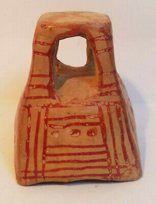 Vintage Red Clay West African Tribal Incense Burner - PreOwned