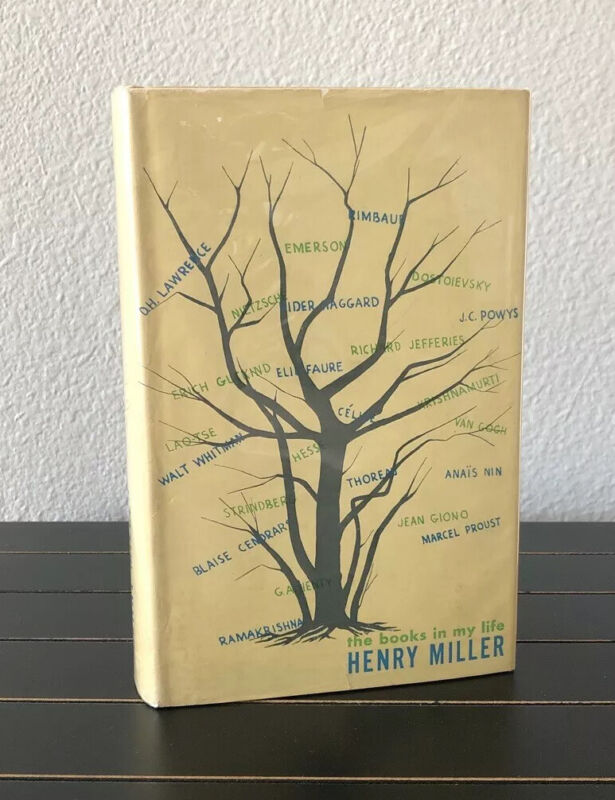 The Books in My Life by Henry Miller Signed First Edition