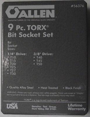 - Allen 56376 Metal Box For Torx Bit Socket Set (No Tools)