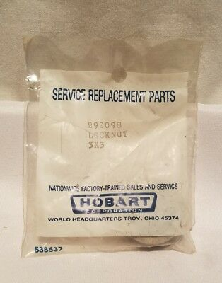 Hobart Front Lock Nut For 403 Series Tenderizer Qty 1 Nos Oem 00-292098