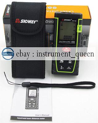 7 Key 40m131ft1575in Laser Distance Meter Range Finder Measure Diastimeter