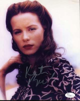 Kate Beckinsale Hand Signed Jsa Coa 8X10 Photo Autographed Authentic