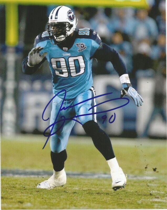 Tennessee Titans Jevon Kearse Signed Autographed 8x10 Photo COA A