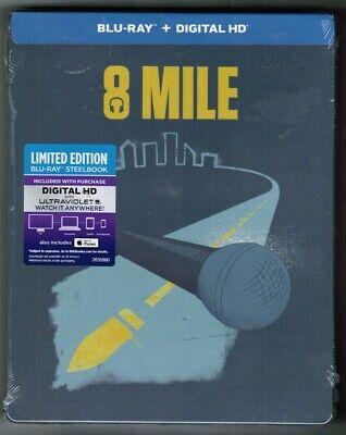 Usado, Curtis Hanson's 8 MILE [Blu-ray, 2014] NEW! - Eminem -  'ICONIC ART' STEELBOOK comprar usado  Enviando para Brazil