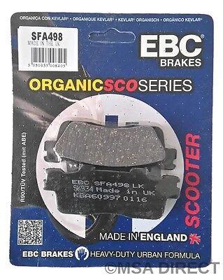 Kawasaki J125 / J300 (2014 to 2016) EBC Organic REAR Disc Brake Pads (SFA498)
