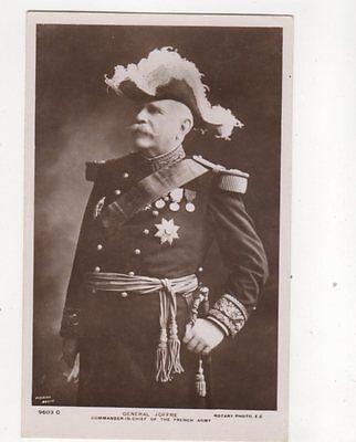 General Joffre Vintage RP Postcard 160b