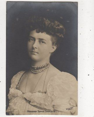 Herzogin Sophie Charlotte RP Postcard Germany Royalty 039b