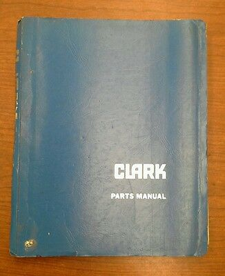 Clark Forklift Manual Tm247-0450-6628 I-246-3