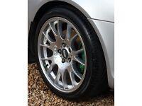 Bbs ch alloy wheel 5x112 , 18 inch et42 , 8j