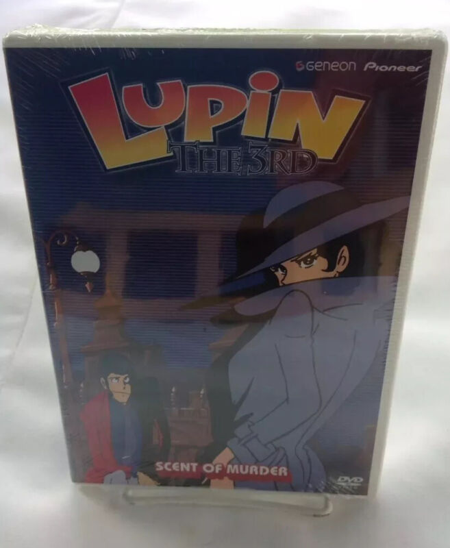 LUPIN THE 3rd SCENT OF MURDER DVD VOL9 Brand New Factory Sealed !!!