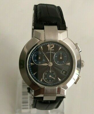 Concord La Scala Chronograph Men's Stainless Swiss Watch  14.C5.1891 ()