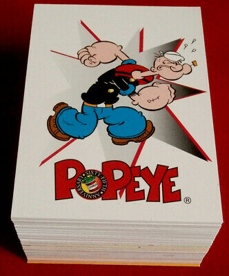 POPEYE - Complete Base Set of 100 cards - Card Creations - 1994