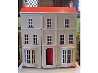 Mid 20th century large wooden dolls house