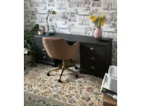 Black Dressing Table / Desk