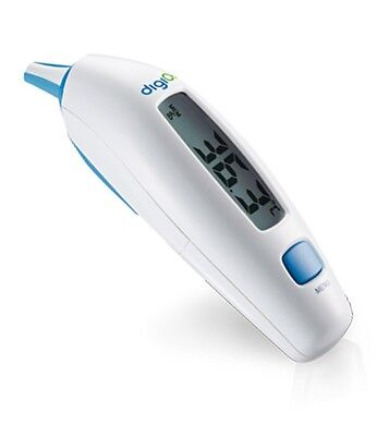 DigiO2 ETH-101 Infrarot Ohr-Thermometer Fieber-Thermometer Baby Kinder Display