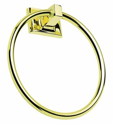 NEW Millbridge Towel Ring Polished Brass Design House 533349 FREE (Brass Polished Ring)