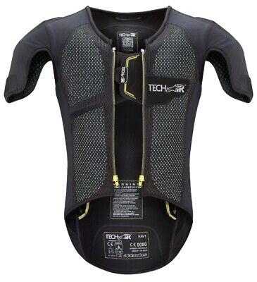 Alpinestars Tech-Air® Race-e Airbag Weste Motorrad Sicherheit Sport Racing (Nylon Sicherheits-weste)