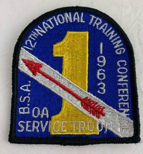 BSA 1963 12th National Training Conference Order of the Arrow OA Service Troop