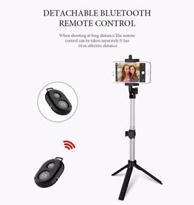 FLOVEME Tripod Bluetooth Selfie Stick For iPhonesAndroid (Free Shipping)