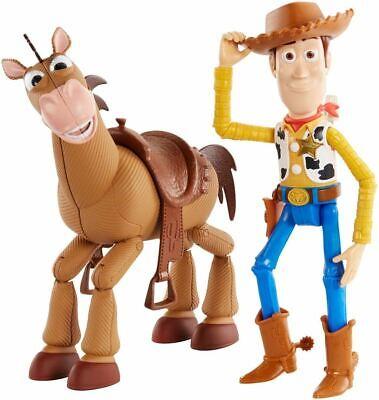 Disney Pixar's Toy Story 4 Woody and Bullseye 2-Character Pack