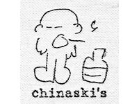 SOUS CHEF REQUIRED FOR BUSY WEST END GASTRO PUB- CHINASKI'S