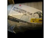 Devon essential single mattress brand new