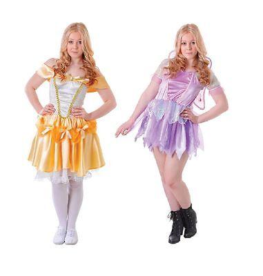 # Teenage Märchen Belle oder Fantasie Fee Kostüm bis zu 15 - Belle Kostüm Teenager