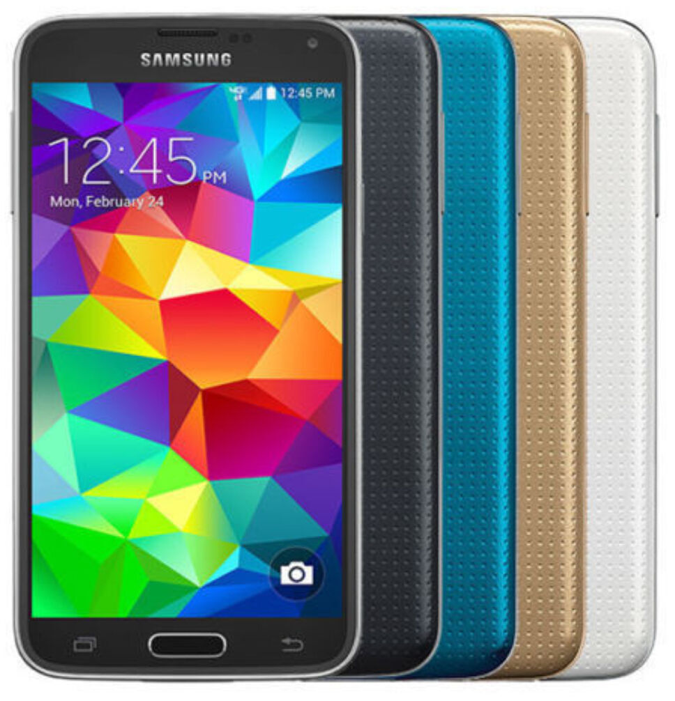 Android Phone - Samsung Galaxy S5 - G900V (Verizon + GSM Unlocked; AT&T / T-Mobile) Smartphone