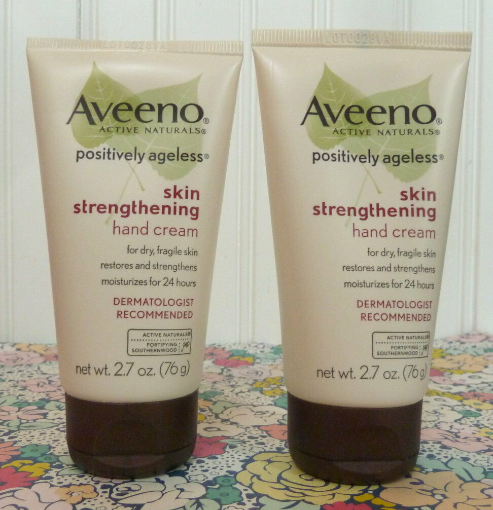 Aveeno Positively Ageless Skin Strengthening Hand Cream For