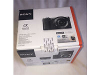 Sony A5100 Digital Camera 24.3 MP HD 1080p Brand New Boxed !