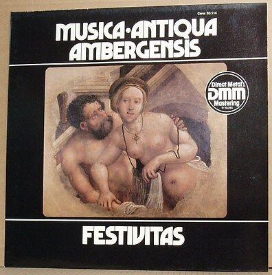 LP Musica Antiqua Ambergensis  Schwämmlein Festivitas  Carus 1983 mint