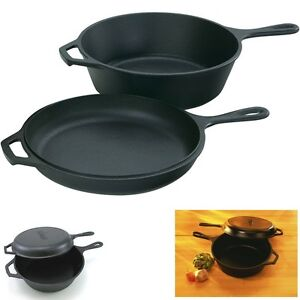LODGE-LOGIC-LCC3-PRE-SEASONED-CAST-IRON-COMBO-COOKER-DUTCH-OVEN-SKILLET-POT-PAN
